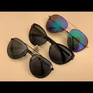 3 pairs old navy sunnies: 1 new w tag, 2 used once